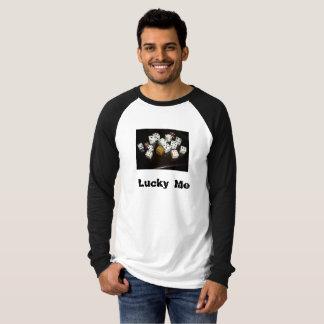 Men's Canvas Long Raglan T-Shirt w/text