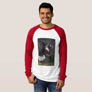 Men's Canvas Long Sleeve Raglan Shirt