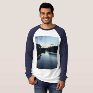 Men's Canvas Long Sleeve Raglan T Shirt. T-Shirt