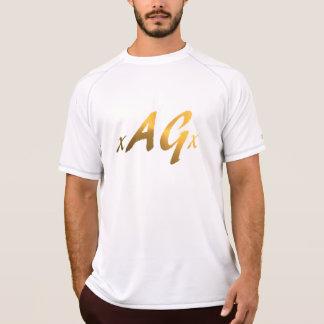 Men's Champion Double Dry Mesh  T-Shirt, White T-Shirt