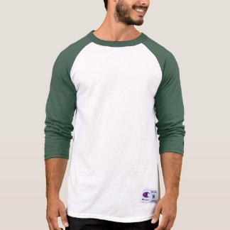 Men's Champion Raglan 3/4 Sleeve Shirt GREEN DARK