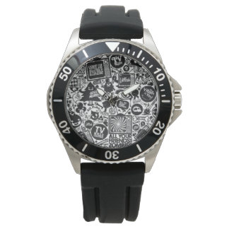 Men's Chaos Theory Stainless Steel Watch