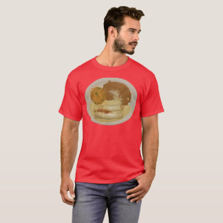 Men's Chicken Enchiladas with Refried Beans & Rice T-Shirt