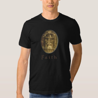 Mens Christian clothing Shroud of Turin Tshirt