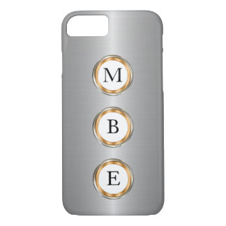Men's Classy Monogram iPhone 7 Case