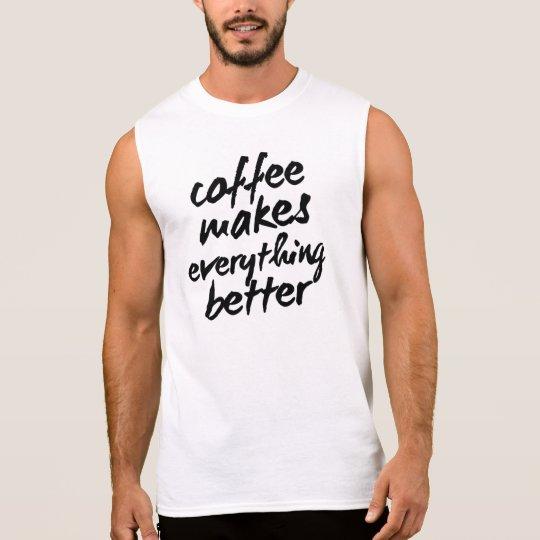 Mens Coffee Inspirational Entrepreneur Tank