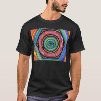 Men's Colorful lock nut  T-Shirt