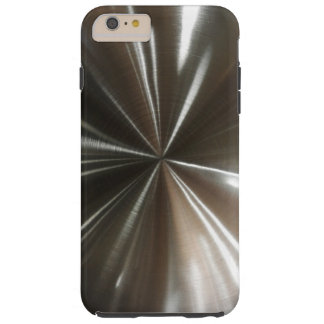 Men's Cool Silver Look Tough iPhone 6 Plus Case