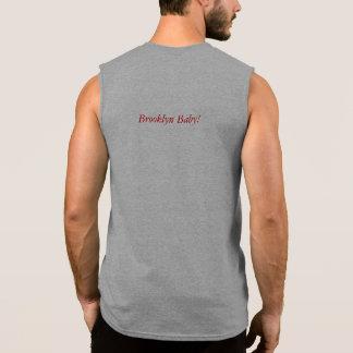 Men's cotton Muscle shirt tee Brooklyn Baby! NY