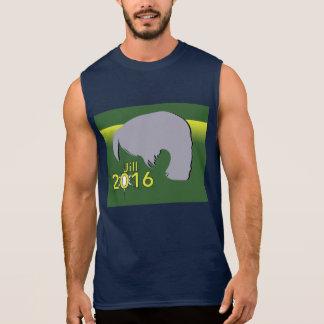 Men's Cotton Sleeveless T-Shirt Jill 2016 Graphic
