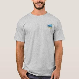 Men's Crew Tee~Mural #1: Hermosa Beach Pier Plaza T-Shirt