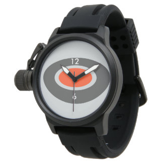 Men's Crown Protector(Custom Background Color) Watch