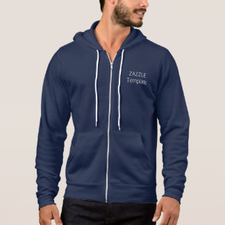 Men's Custom American Apparel Zip Hoodie
