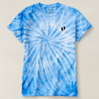 Men's Cyclone Tie-Dye Footprints T-Shirt