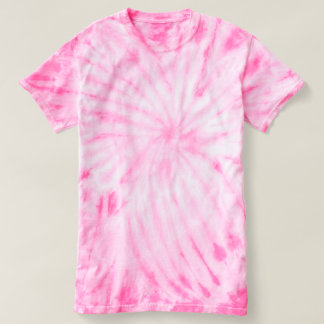Men's Cyclone Tie-Dye T-Shirt pink