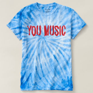 Men's Cyclone Tie-Dye T-Shirt - YOU MUSIC