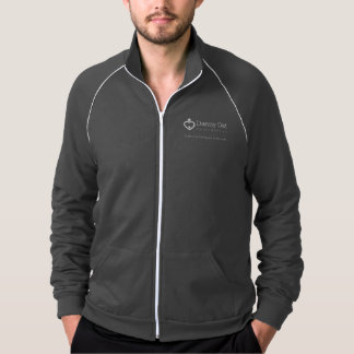 Men's Danny Did Track Jacket - Grey