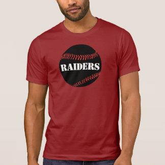 Men's Dark Black Baseball Alternative Color Tshirt