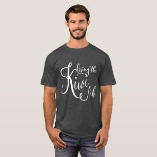 Men's Dark Living the Kiwi Life T-Shirt