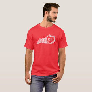 Men's Dark T-Shirt Used I Love Kentucky State