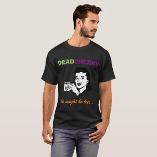 Men's DeadCheeky short sleeve black t-shirt