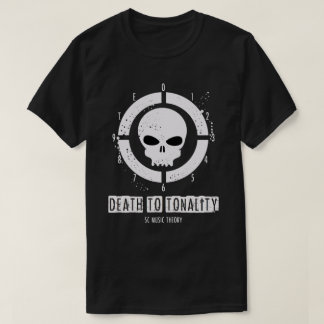 Men's Death to Tonality (SC Music Theory) T-Shirt