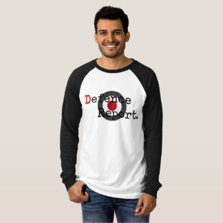Men's DefenceReport Long-Sleeve with Roundel T-Shirt
