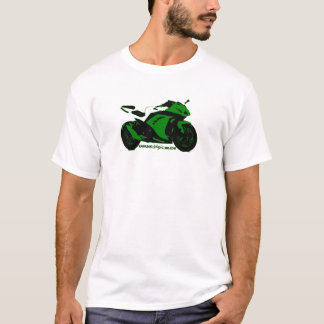 Men's ebony sportbike T T-Shirt