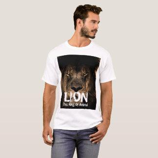 Men's fashion lion t-shirt