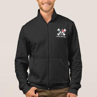 Men's FEAR THE LEO! Zip-Up Fleece Jacket