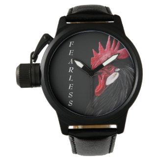 Men's FEARLESS/Black Rooster Watch