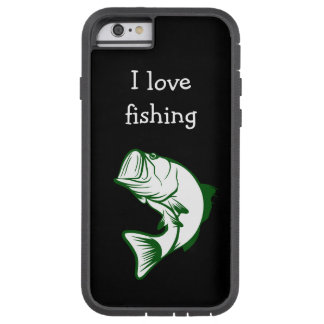 Men's Fishing Theme Tough Xtreme iPhone 6 Case