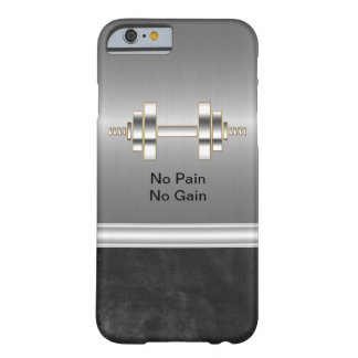 Men's Fitness Theme Barely There iPhone 6 Case