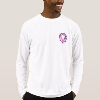 Men's Fitted Long Sleeve T-S with Sprezzatura Lion T-Shirt