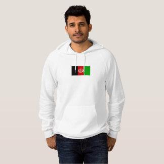 Mens Flag of Afghanistan Hoodie