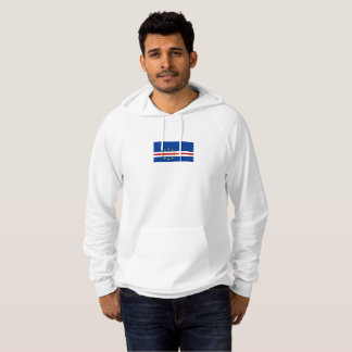 Mens Flag of Cape Verde Hoodie