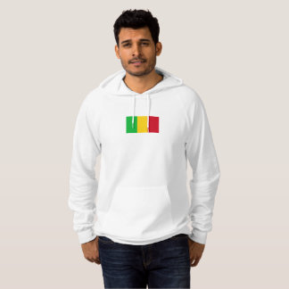 Mens Flag of Mali Hoodie