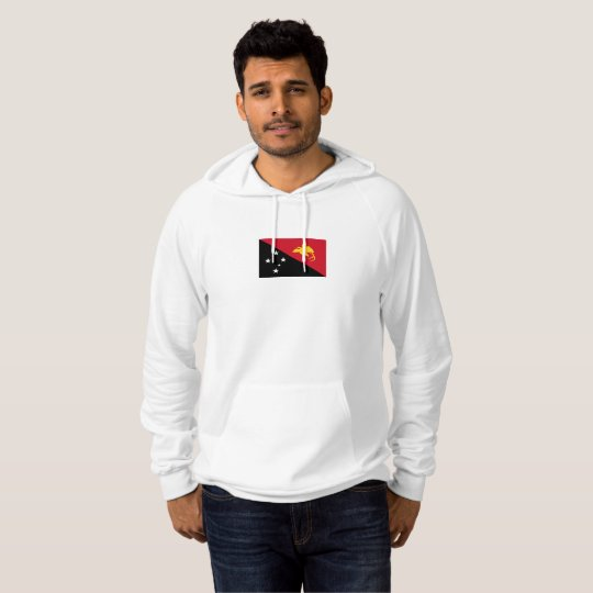 Mens Flag of Papua New Guinea Hoodie