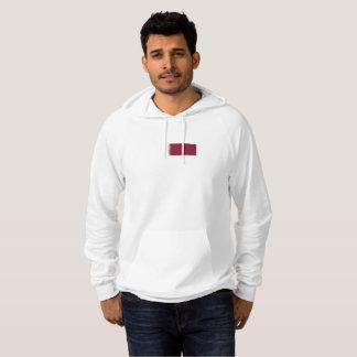 Mens Flag of Qatar Hoodie