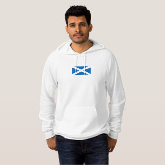 Mens Flag of Scotland Hoodie