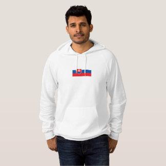Mens Flag of Slovakia Hoodie