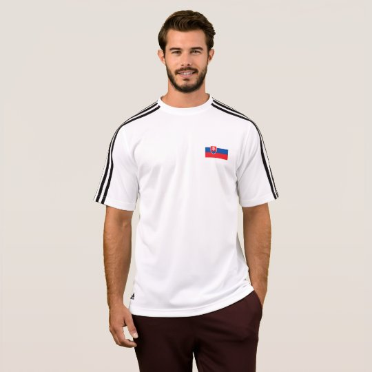Mens Flag of Slovakia T-Shirt