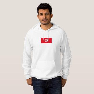 Mens Flag of Tunisia Hoodie
