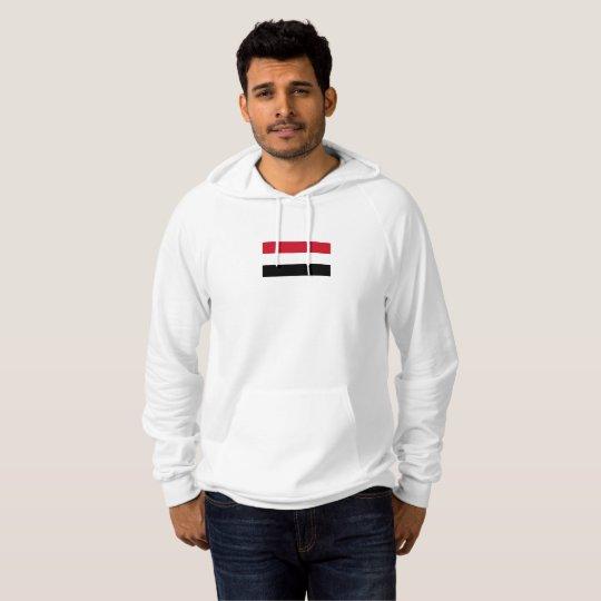 Mens Flag of Yemen Hoodie