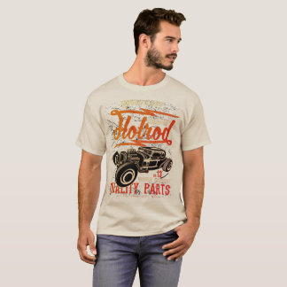 Mens flaming Hotrod tshirt