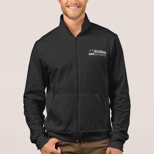Men's Fleece Zip Jogger BeckRidge Productions Jacket