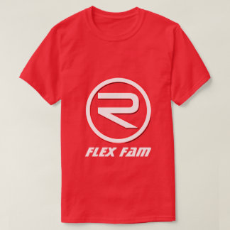 Mens Flex Fam Reflex T-Shirt(Red) T-Shirt