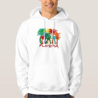 Mens Florida palm tree hoodie