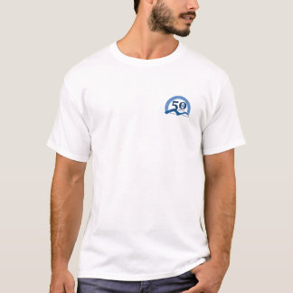 Mens Foothills Turns Fifty Logo TShirt - Any Color