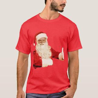 Mens Funny Santa Christmas Longsleeve Shirt Top